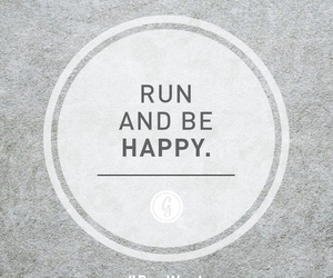 run, happy, and motivation image