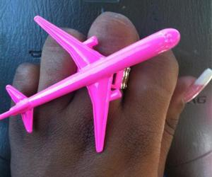 airplane, nails, and plane image