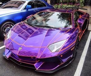 boys, girls, and purple car image
