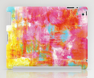 abstract art, fine art, and hot pink image