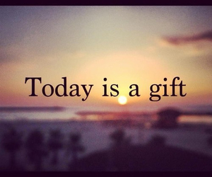 life, gift, and quote image