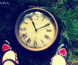 11:11, alice in wonderland, and shoes image