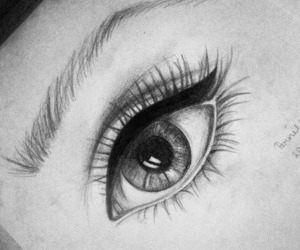 beautiful, black, and sketch image