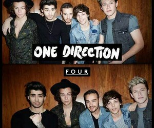 four, niall horan, and louis tomlinson image