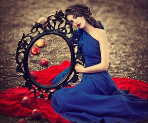 mirror, apple, and photography image