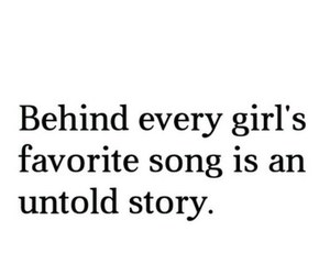 story, song, and girl image