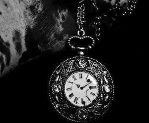 antique, clock, and black and white image