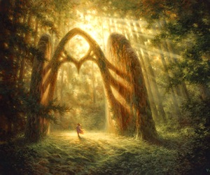 fantasy and forest image