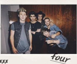 one direction, four, and niall horan image