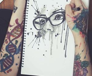 addicted, tatouage, and art image
