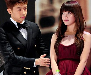 wooyoung and iu image