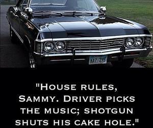 car, dean, and impala image