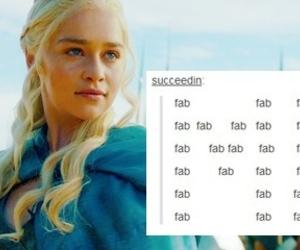 tumblr, game of thrones, and daenerys targaryen image