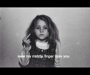 middle finger, like, and finger image