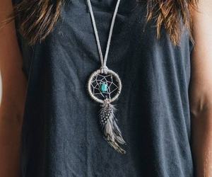 necklace, dreamcatcher, and Dream image
