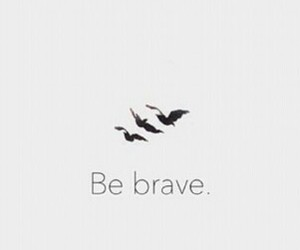brave, strong, and tatoo image