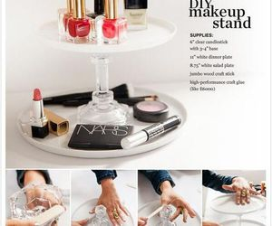 diy, makeup, and stand image