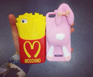 best friends, fashion, and Moschino image