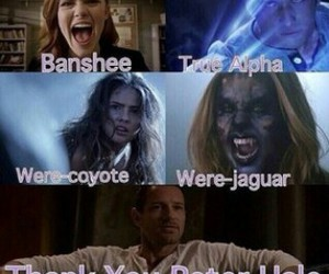 teen wolf, banshee, and peter hale image