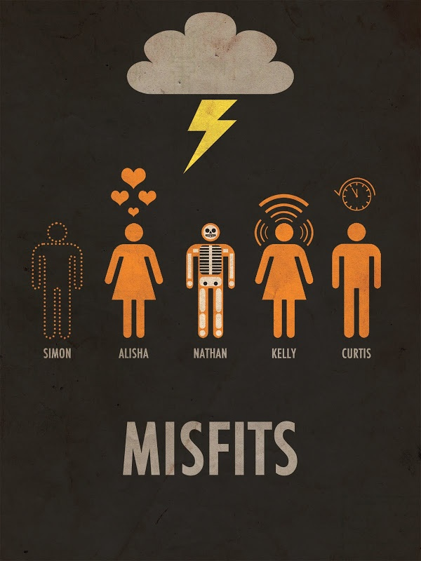 Misfits Via Tumblr Uploaded By Fearhurtsmorethanswords