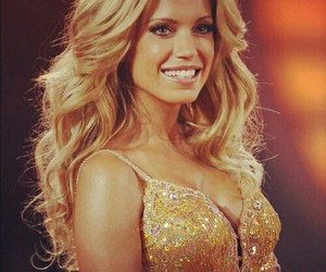 blonde, beautiful, and sylvie van der vaart image