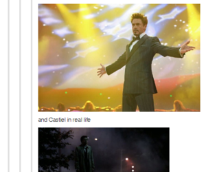 introvert, castiel, and funny image