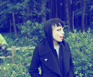 Alice Glass, Crystal Castles, and forest image