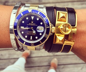 rolex, watch, and fashion image