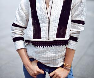 blogger, girl, and street fashion image