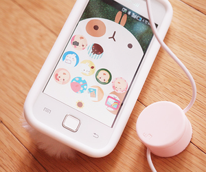 kawaii, phone, and japan image
