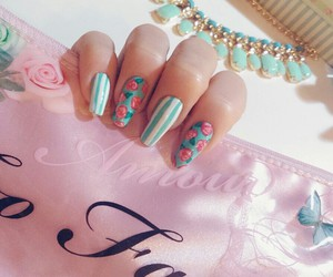 girly, inspiration, and nails image
