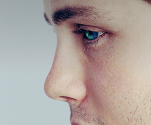 logan lerman, boy, and eyes image