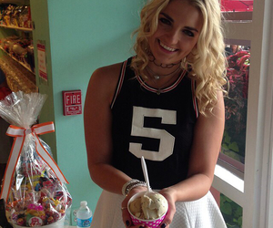 r5, rydel lynch, and ice cream image
