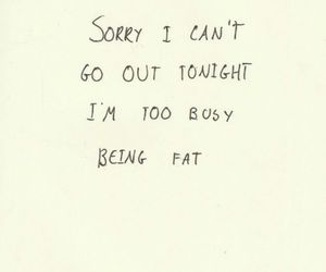 fat, text, and quotes image