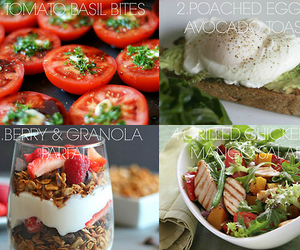 breakfast, diet, and fit image