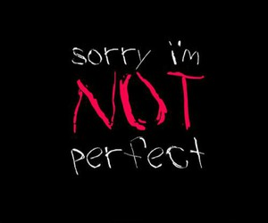 girl, not, and sorry image