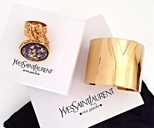 fashion, YSL, and bracelet image