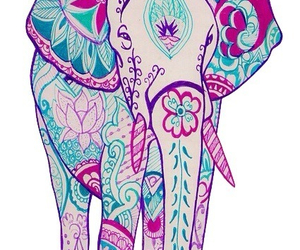 elephant, art, and wallpaper image