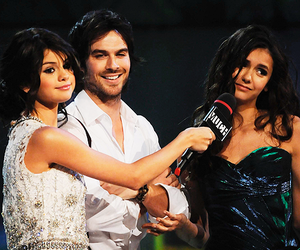 beautiful, ian somerhalder, and Nina Dobrev image