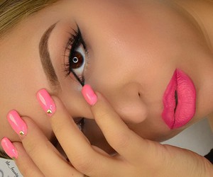 colors, make up, and nails image