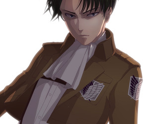 captain, levi, and sexy image