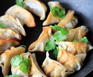 chinese, eggplant, and mushroom image