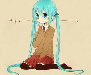 vocaloid, kawaii, and miku image