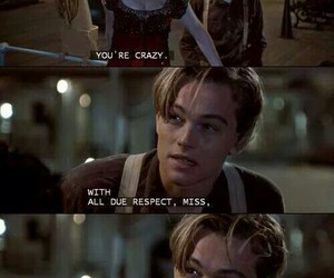 titanic, funny, and jack image
