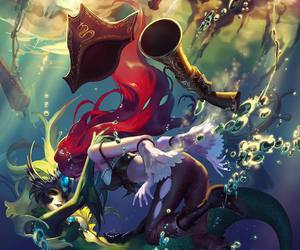 nami, miss fortune, and league of legends image