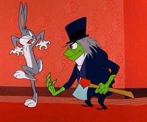 bugs, cartoon, and hare image