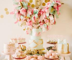 wedding, cake, and cupcake image