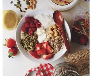 breakfast, food, and oatmeal image