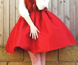 fashion, skirt, and ginger image