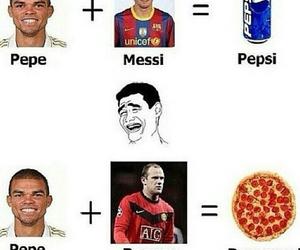 football, funny, and haha image